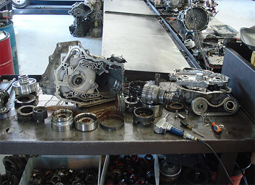Transmission Rebuild Services